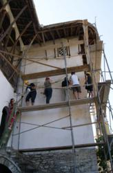 Adventures in Preservation partners with CHwB to save the Skenduli house